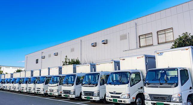 貨物自動車運送業、倉庫管理業